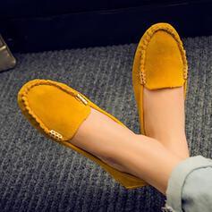 De mujer PU Tacón plano Planos Encaje zapatos