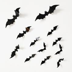 Animal Bat Halloween Paper Sticker Window Sticker (Set of 12)