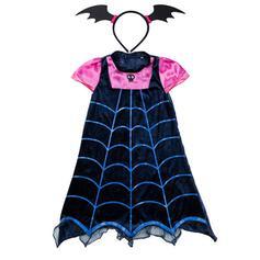 Gotiska fladdermus Spindel Elastan Halloween rekvisita (Set av 2)