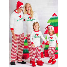 Cu Dungi De Familie Pijamale De Crăciun