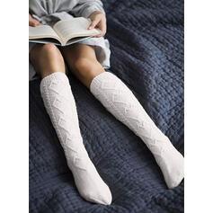Uncinetto Caldo/Confortevole/Da donna/Calf Calf Calzini/calze autoreggenti