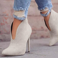 De mujer PU Tacón stilettos Salón con Color sólido zapatos