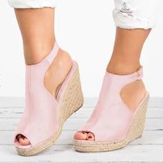 De mujer Ante Tipo de tacón Cuñas con Otros zapatos
