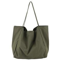 Culoare solida/Stilul Boemiei/Călătorie/Simplu/Super convenabil Tote Bags/Beach Saci/Hobo Pungi
