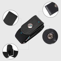 Unikátní Stylový Nastavitelný Žádná spona Neviditelný Slitina PU Plátno Unisex Pásy