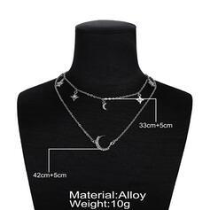 Único Con estilo Aleación Sistemas de la joyería Collares