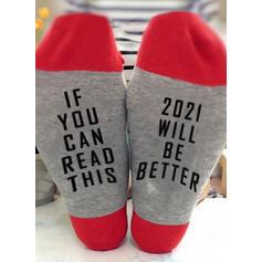 Dopis/Tisk Komfortní/Posádkové ponožky/2020/Unisex Ponožky