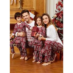Letter Семейное соответствие Рождественская пижама