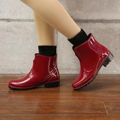 De mujer PVC Tacón bajo Botas Botas de lluvia con Otros zapatos