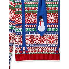 Unisex Polyester Tisk Ošklivý vánoční svetr