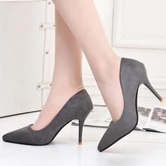 Pentru Femei Piele de Căprioară Toc Stiletto Încălţăminte cu Toc Înalt Închis la vârf pantofi