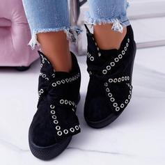 Donna Tessuto Casuale All'aperto con Bowknot scarpe