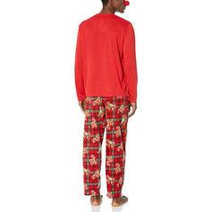 Tela escocesa Impresión Familia a juego Pijamas De Navidad Pijama