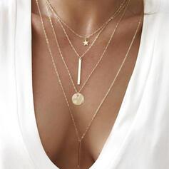 Πανεμορφη Μόδας Λάγνος Κράμα Κολιέ Παραλία κοσμήματα