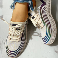 Bayanlar bez gündelik Dış mekan atletik Ile Bağcıklı ayakkabı ayakkabı