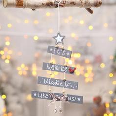 Craciun Fericit Agăţat De lemn Pandantiv de Crăciun Decor de Crăciun