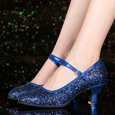 De mujer zapatos de personaje Brillo Chispeante Danza latina