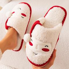De mujer Piel sintética Tacón plano Sandalias Pantuflas con Apliques Estampado de animales Piel zapatos