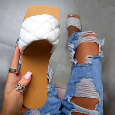 Women's EVA Flat Heel Sandals Slippers With Solid Color shoes