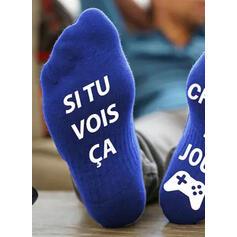 Dopis/Tisk Komfortní/Posádkové ponožky/Unisex Ponožky