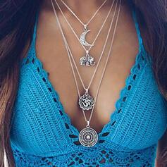 Unic rafinat Elegant Aliaj Seturi de bijuterii coliere Plajă bijuterii