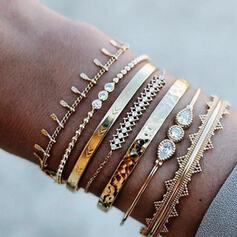 Aliaj Seturi de bijuterii Bratari (Set of 6 pairs)