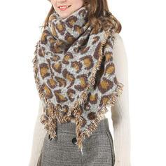Leopardo moda/Caldo Sciarpa