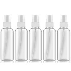 Multi-functional 100ML Plastic Spray Bottle (Set of 5)