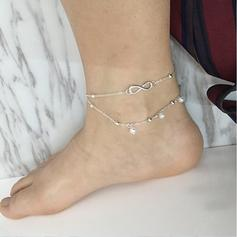 Exquis Alliage Bracelets de cheville