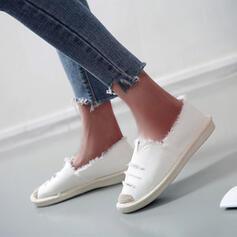 Női Vászon Alkalmi Szabadtéri -Val Hálós ruha cipő