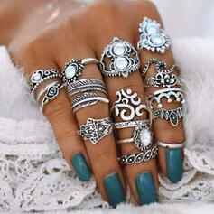 Κράμα Για Γυναίκες Δαχτυλίδια (Σετ από 16)