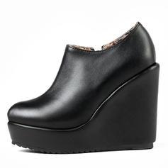 Pentru Femei Imitaţie de Piele PU Platforme Înalte Încălţăminte cu Toc Înalt Platformă Închis la vârf Platforme cu Altele pantofi