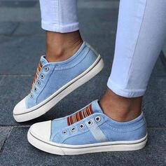 De mujer Lona con Material Block zapatos