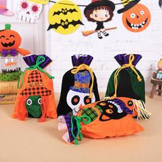 minunată Înspăimântător clasic Halloween Schelet Cloth Genți de bomboane