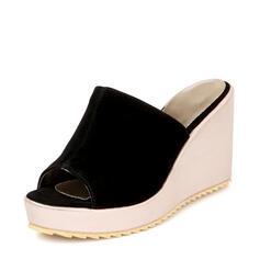 Pentru Femei Piele de Căprioară Platforme Înalte Sandale Platforme Şlapi cu Altele pantofi