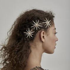 Hermoso De moda Simple Pretty Aleación De mujer Accesorios para el cabello