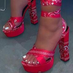 Σανδάλια Γοβάκια Πλατφόρμα Ανοιχτά σανδάλια toe Με Κέντημα-επάνω παπούτσια