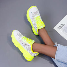 Bayanlar PU gündelik Dış mekan Ile Bağcıklı ayakkabı ayakkabı
