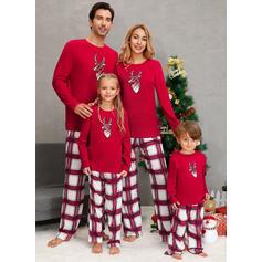 Xadrez Família Combinando Natal Pijama