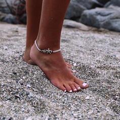 Vrstvené Design hvězdice Slitina Opletené lano Dámské Plážové šperky Ponožky