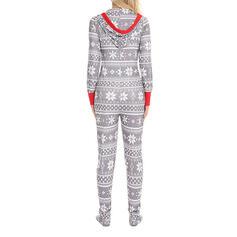 Bavlna Dlouhé rukávy Vánoce Šňůrka Pajama Set
