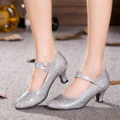 Vrouwen Character Shoes Pumps Sprankelende Glitter modern