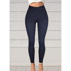 Pevný Plus velikost Dlouho Elegantní Sexy Kalhoty Legíny