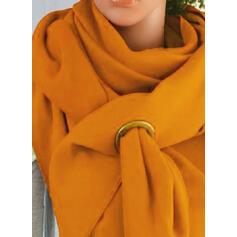 Colore solido moda/semplice Sciarpa