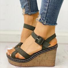 De mujer Ante Tipo de tacón con Hebilla zapatos