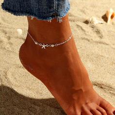 Jednoduchý Chladný Slitina S Hvězda Ponožky