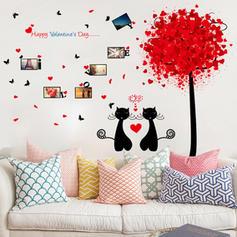 Modern Kaikki muodot Pop Art Seinätarrat