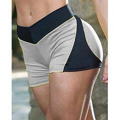 Bloque de color Shorts deportivos