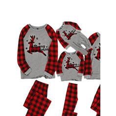 Cervo Tartan Famiglia Partita Di Natale Pajamas