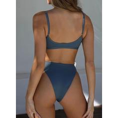 Alacsony derék High Leg Pánt Szexis Bikinik Μαγιό